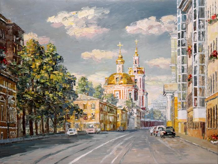 картины маслом в москве: