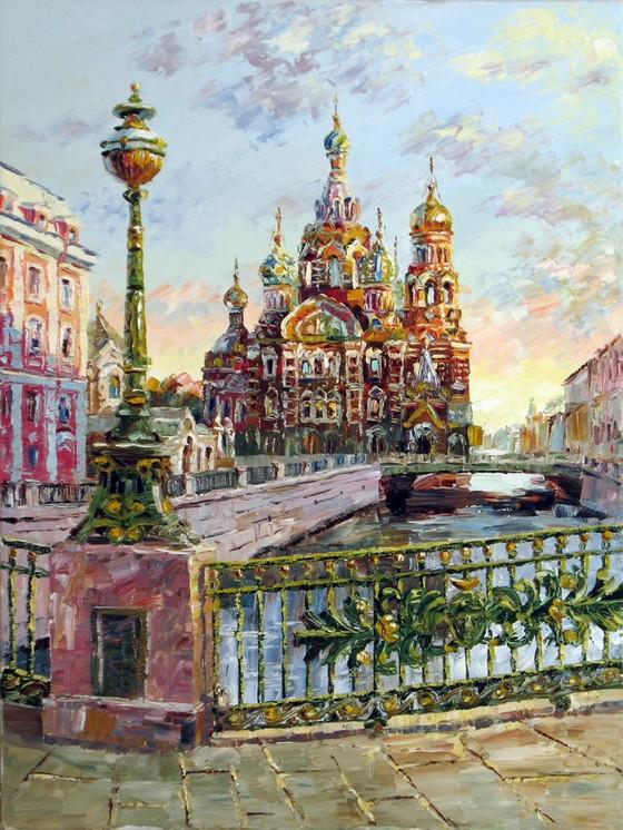 санкт петербург в картинах: